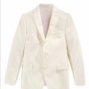 Ivory Boys Blazer Jacket